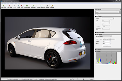 Indigo Renderer for Mac and Linux full screenshot